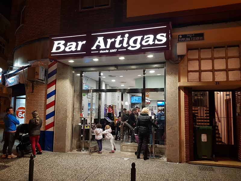 Entrada Bar Artigas